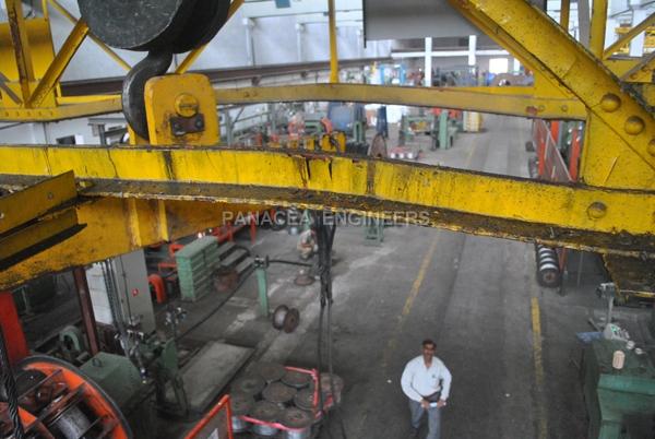 Overhead Crane Failure : Crane failure analysis girder welding finite