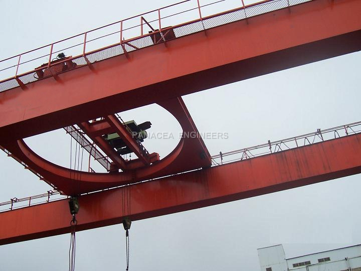 Rotating Trolley Cranes